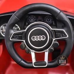 Voitures électriques pour enfants batterie 6v 12v 24v 36v télécommande pass cheer Audi R8 Spyder licence pour enfants et filles