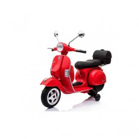 Moto VESPA officiel 12v électrique pour enfants licence Piaggio