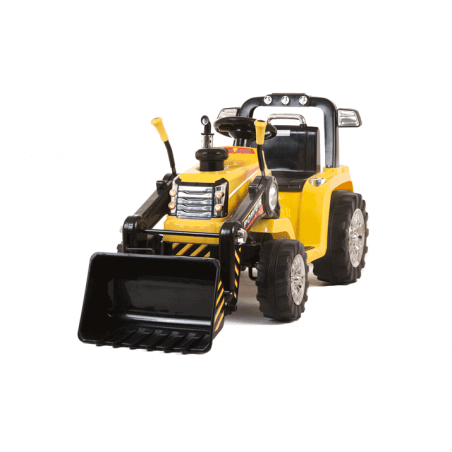 Tracteur / pelle 12v avec télécommande pas cher