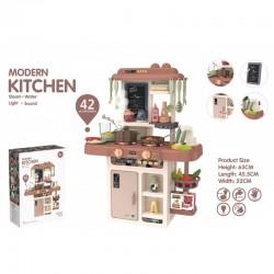 Tapis trampolines toboggans cuisines pour enfants Cuisine Modern Kitchen 42 accessoires