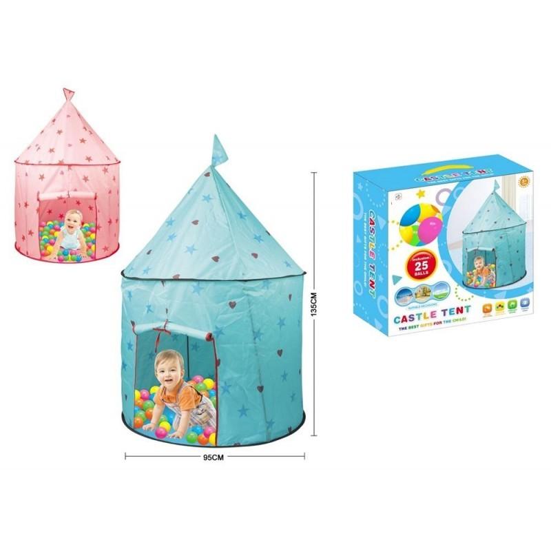 Tapis trampolines toboggans cuisines pour enfants Château Princesse -Prince avec balles
