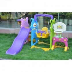 Tapis trampolines toboggans cuisines pour enfants Parc pour enfants 5 en 1
