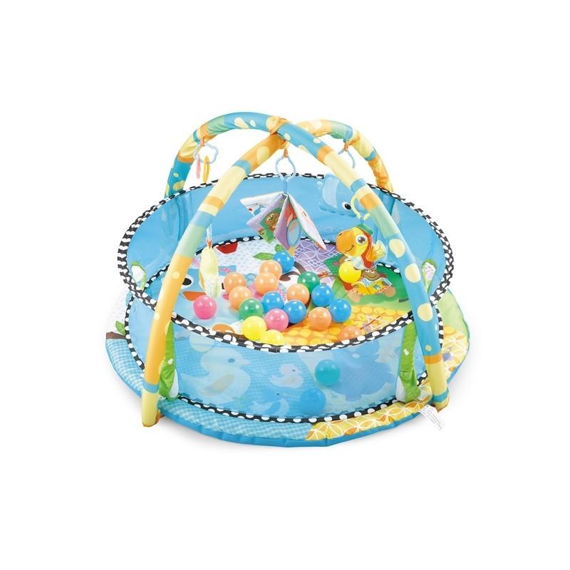 Tapis trampolines toboggans cuisines pour enfants Tapis de jeux pour bébés 2 en 1