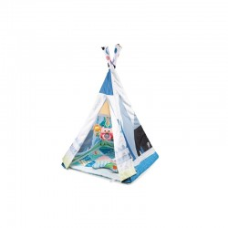Tapis trampolines toboggans cuisines pour enfants TIPI toile de tente indienne