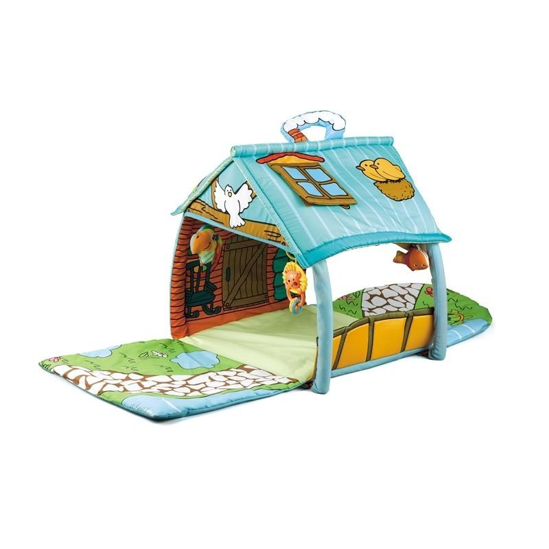 Tapis trampolines toboggans cuisines pour enfants Tapis de jeux maisonnette