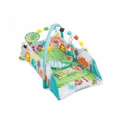 Tapis trampolines toboggans cuisines pour enfants Tapis de jeux 3 en 1