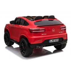 Voitures électriques pour enfants batterie 6v 12v 24v 36v télécommande pass cheer Mercedes GLC coupé Biplace