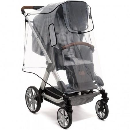 Protecteur de pluie pour tricycle ou poussette