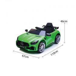 Voitures électriques pour enfants batterie 6v 12v 24v 36v télécommande pass cheer Mercedes GTR 12v