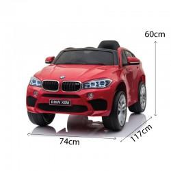 Voitures électriques pour enfants batterie 6v 12v 24v 36v télécommande pass cheer BMW X6M 12v
