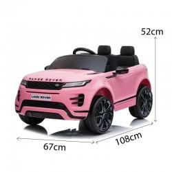 Voitures électriques pour enfants batterie 6v 12v 24v 36v télécommande pass cheer Range Rover Evoque 12v
