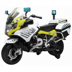 Motos electriques pour enfants et bebe batterie 6v 12v pas cher telecommande ATAA Moto police Espagnole 12V BMW R1200