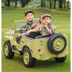 Voitures électriques pour enfants batterie 6v 12v 24v 36v télécommande pass cheer ATAA Commander 12v 3 places