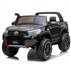 Voitures électriques pour enfants batterie 6v 12v 24v 36v télécommande pass cheer Toyota Hilux 850 24v Biplace