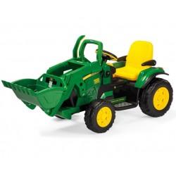 Excavator John Deere 12v - tracteur électrique pour enfants Peg-Pérego épuisé