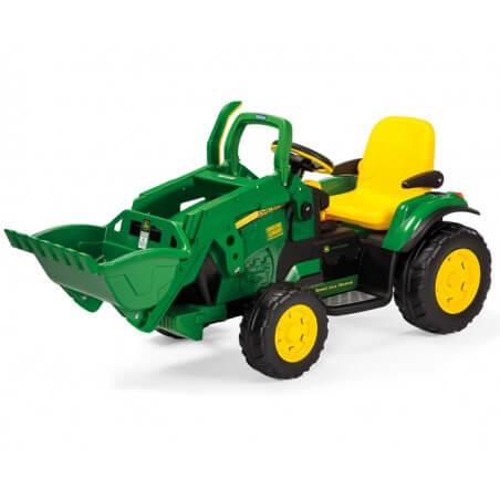 Excavator John Deere 12v - tracteur électrique pour enfants