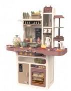 Cuisines jouets pour enfants avec eau et vapeur en PVC ou Bois